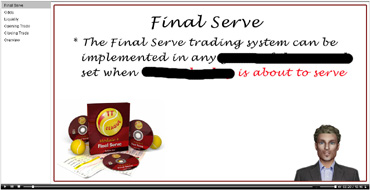 Tennis trading league system